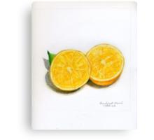 Breakfast Navel Canvas Print