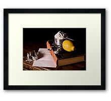 Grandma's Lemon Cookies Framed Print