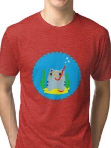 Steve: Under the sea Tri-blend T-Shirt
