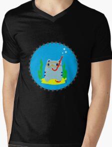 Steve: Under the sea Mens V-Neck T-Shirt