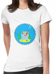 Steve: Under the sea Womens Fitted T-Shirt