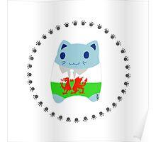 Steve loves Wales Poster