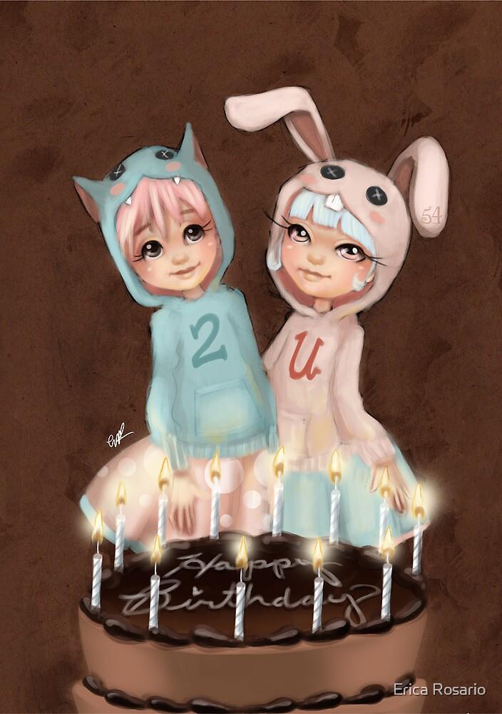 Happy Birthday 2 U by Erica Rosario