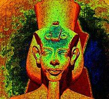 Akhenaten II by Devalyn Marshall