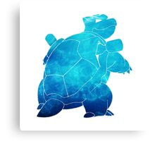 Awesome Blastoise! Canvas Print