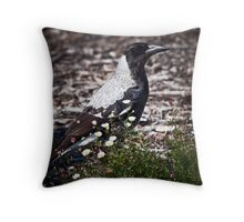 Go the Pies! Throw Pillow