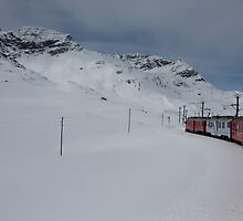 Bernina Express by annalisa bianchetti