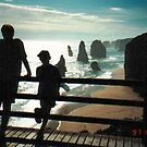 Sunset at the 12 Apostles -  Port Campbell by EdsMum