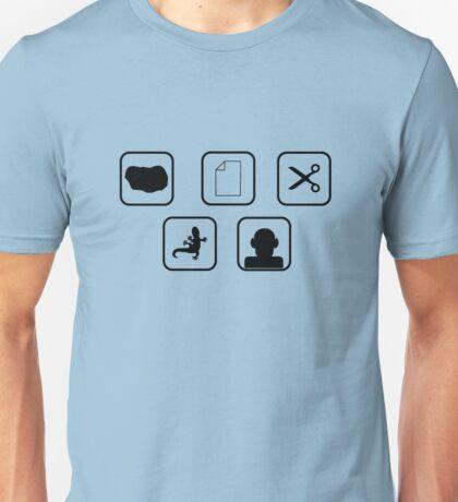 Lizard Spock Expansion Unisex T-Shirt