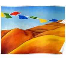 Tibetan Landscape Poster