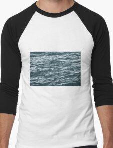 water background Men's Baseball ¾ T-Shirt