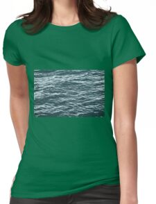 water background Womens Fitted T-Shirt