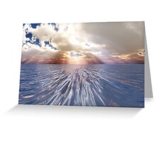 Mystery Sea Greeting Card