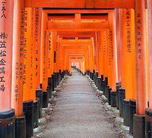 Fushimi Inari Shrine by F.M. Gore-Kelly