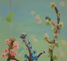 Cherry Blossoms  by Chrissy Rosadoni
