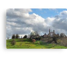 The Royal Observatory in Greenwich Canvas Print