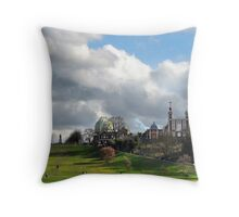 The Royal Observatory in Greenwich Throw Pillow