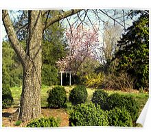 Double Cabins Plantation Gardens Poster