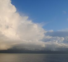 Cloud Formation Above the Channel by BeckyMP
