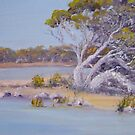 Coorong Trees - South Australia by Kay Cunningham