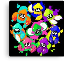 Splatoon - Inkling Squad Canvas Print