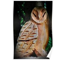 Nocturnal carving Poster