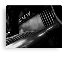 BMW Engine Canvas Print