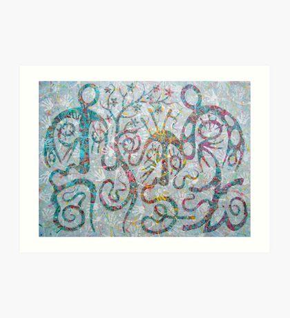 family ties Art Print