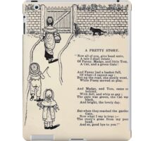 Miniature Under the Window Pictures & Rhymes for Children Kate Greenaway 1880 0023 A Pretty Story iPad Case/Skin