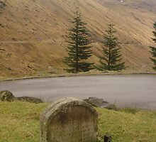 300year old grave in the mountains of scotland... by marieangel
