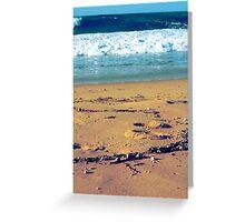 Summer Sand Greeting Card