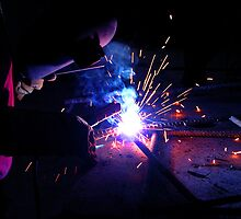 man welding by anoopjoysury