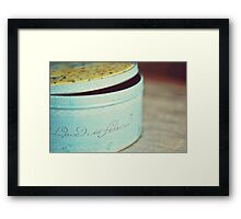 Love is forever. Framed Print