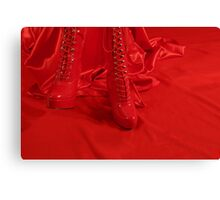 Fetish for Red Canvas Print