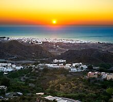 Sunrise in top Mojacar by David Osuna