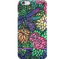Tiffany Glass on Paper iPhone Case/Skin
