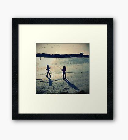 Fisherman's daughters Framed Print