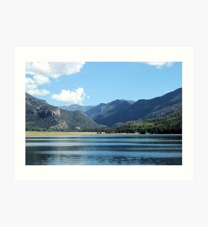 Williams Lake Art Print