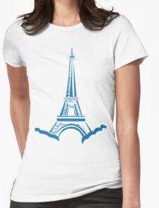 The Eiffel Tower, Paris, Silhouette T-Shirt