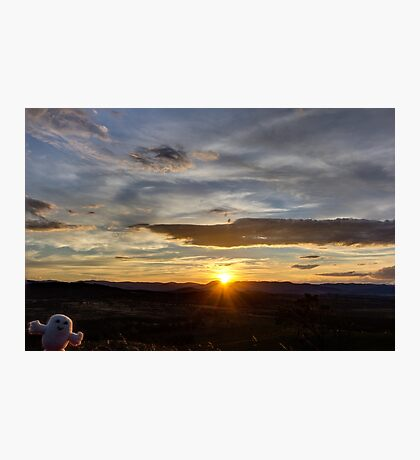 Hello SunSet! Photographic Print