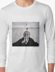 "Oscar murmured with sheer content, ""Agatha... i sprouted an idea..."" Long Sleeve T-Shirt"