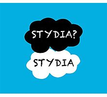Stydia? Stydia. Photographic Print