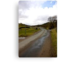 Country Road - Coverdale #1 Canvas Print