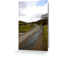 Country Road - Coverdale #1 Greeting Card