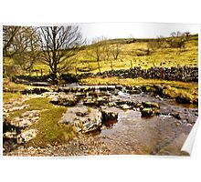 Cray Gill Stepping Stones Poster