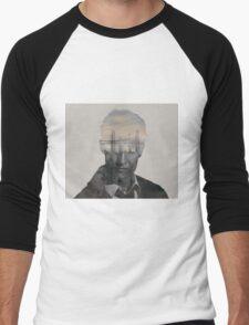 True Detective - Rust Cohle  Men's Baseball ¾ T-Shirt