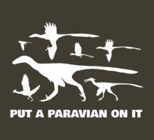 Put A Paravian On It (White) T-Shirt
