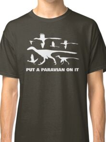 Put A Paravian On It (White) Classic T-Shirt