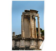 Temple of Vesta, Rome, Italy Poster
