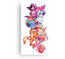 My Little Pony - Rainbow Power Canvas Print